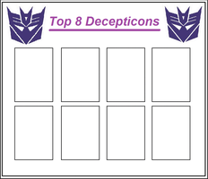 Top 8 Decepticons Meme by Maygirl96