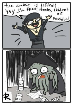 Pirates of the caribbean 5, doodles 1 by Ayej