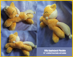 Filly Applejack Plushie by Busoni