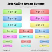 Free Call to Action Buttons by berhouma