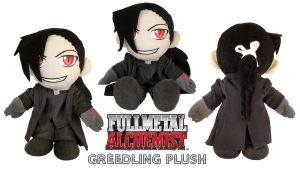 Greedling Plush by Patchwork-Shark