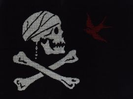 Jack Sparrow Pirate Flag by kyotiutsukushii