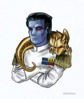 Grand Admiral Thrawn by Evolvana