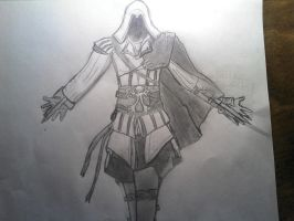 Assassins creed 2 attempt by Drawade