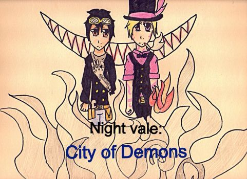 Night vale: City of demons cover by Booboogoo2