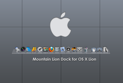 ML Dock for OS X Lion by emoopo