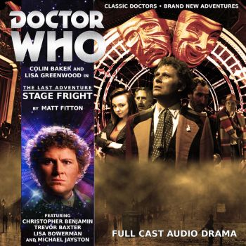 Doctor Who - Stage Fright CD Cover by BenTedds42