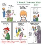 BLEACH Christmas wish by one-of-the-Clayr