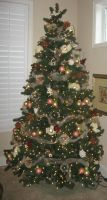 Christmas Tree 1 by GreenEyezz-stock