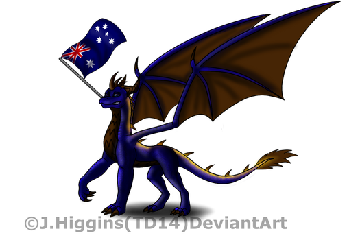 Happy Aussie Day! by Tank-Dragon2014