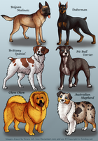 OLD - Dog Pets 4 by KiRAWRa