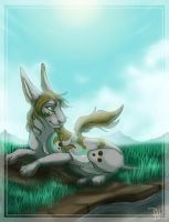 A Quick Rest by Chipo-H0P3