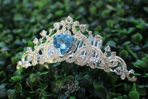 Elsa Inspired Wedding Tiara by Lillyxandra