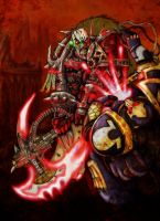 Word bearer's heresy by slaine69