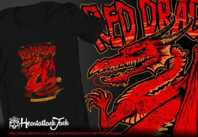 Red Dragons - Cryptids Club Case File #061 by Heartattackjack