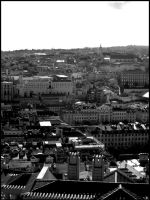 The City BW by Digaas