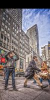 New Yorker and the Photographer by Tomoji-ized