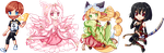 Pixel Commission Batch 2 by Reddomi