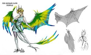 Airdragon Clan - female by noot