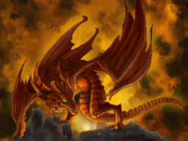Firenze Fire Dragon by Meerin