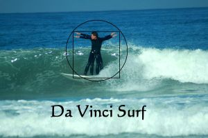 Vitruvian Surfer by robert-kim-karen
