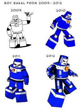 Boy Bakal from 2009-2012 by Olracdude