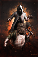 The Evil Within - Summon the Beast by nirnalie