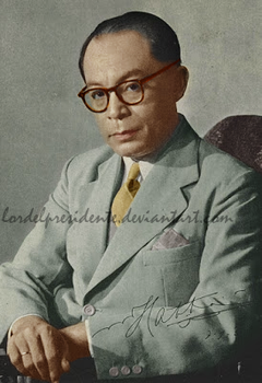 Mohammad Hatta RECOLOR by lordelpresidente