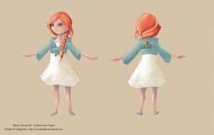 IM development - Minne Concept Art by Kaelula