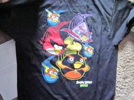 Angry birds T-shirt *B-day present* by Highlynx