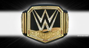 WWE Title with new WWE logo by ultimate-savage