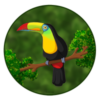 Oh hai Toucan by Teh-Scotty