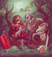 Jason Met May by Iluvendure