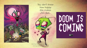 INVADER ZIM COMIC!!! by Zamayn
