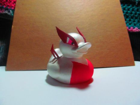 Fury the Shiny Lugia Duck by Molcat