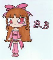Blossom Benson in Chibi by pokediged
