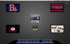 Red Sox TV display by bostonguy3737