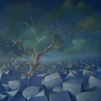Cubes landscape [ 1992 ] by compictor