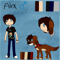 Alex Reference (Drawn By Letipup) by ScottishRedWolf