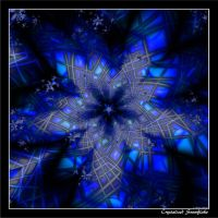 Crystalized Snowflake by Tizette-Creations