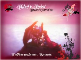 .:YubelxJudai:.bleedinglove by crystalheartXD