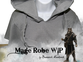 Stage 10: Mage Robe WIP by Bunneahmunkeah
