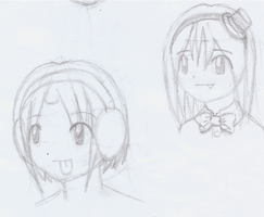 Early Chibi Face Images by CloudRider99
