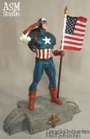 Captain America - Painted 04 by ASM-studio