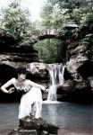 Trash the Dress Waterfall by ShimmyKimmie