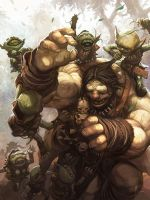 Goblins Harassment by nJoo