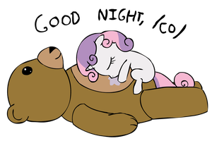 105 - Best Filly Napping by Pones-By-Corwin