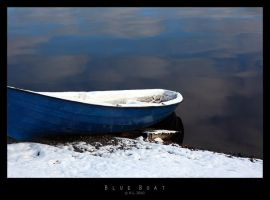 Blue Boat by Mr808