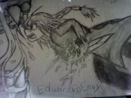 Edward vs Envy by kindalkaykay