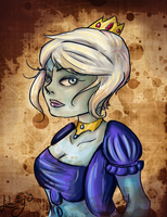 Our Lady (AT/Bioshock) by LizbethLizard